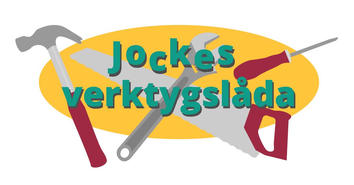 Joakim Jardenbergs verktygslåda