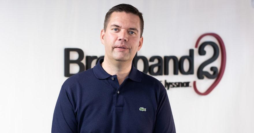 Martin, produktansvarig för datakommunikationstjänster för företag