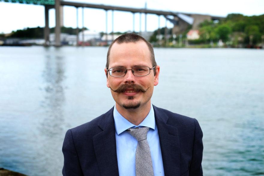 Foto på EU-parlamentarikern Max Andersson