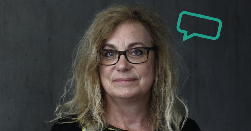 Elza Dunkels, foto: Gitta Wilén. Forskar på digital generation.