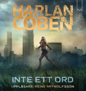 """Boksomslag av """"Inte ett ord"""" av Harlan Coben."""